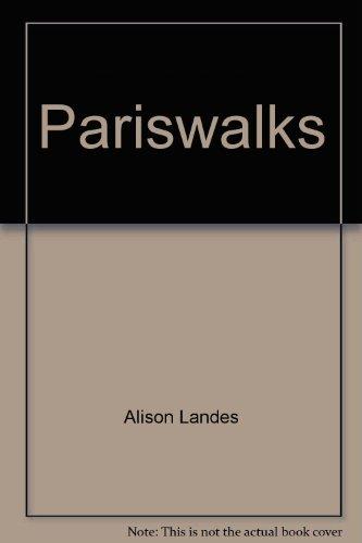 9780030597473: Pariswalks