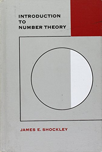 9780030597602: Introduction to Number Theory