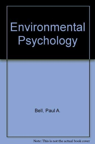 9780030598678: Environmental Psychology