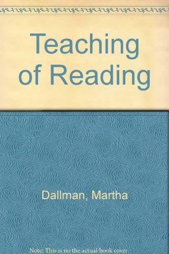 9780030598845: Teaching of Reading