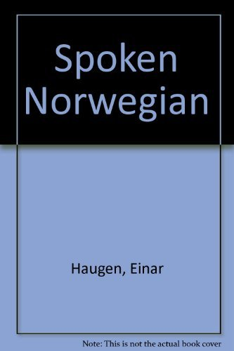 9780030600135: Spoken Norwegian