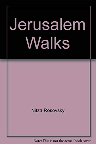9780030600777: Jerusalem Walks