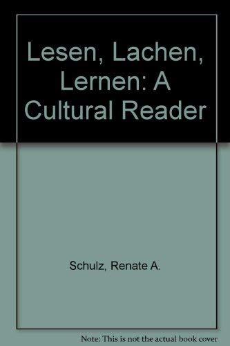 9780030600883: Lesen, Lachen, Lernen: A Cultural Reader