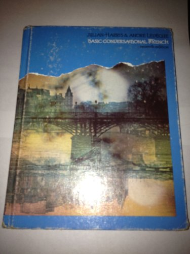 9780030601125: Basic Conversational French (English and French Edition)