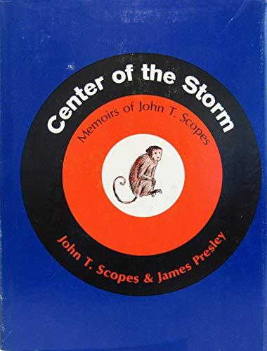 9780030603402: Center of the Storm: Memoirs of John T. Scopes