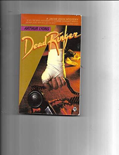 Beispielbild für Dead Ringer (A Jacob Asch Mystery) zum Verkauf von Discover Books