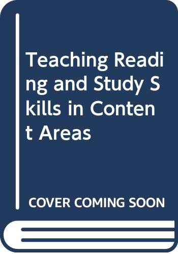 9780030604737: Teaching Reading and Study Skills in Content Areas