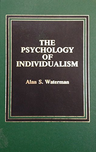 9780030604775: The Psychology of Individualism