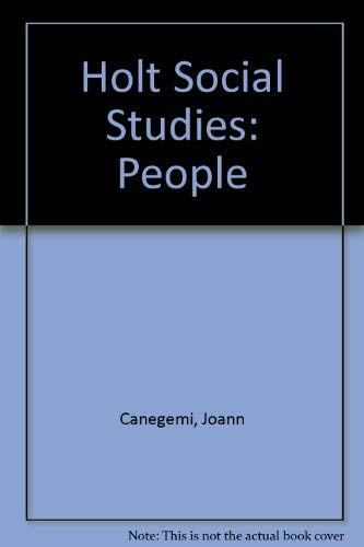 9780030604928: Holt Social Studies: People