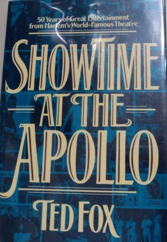 Showtime At the Apollo (SIGNED): Fox, Ted
