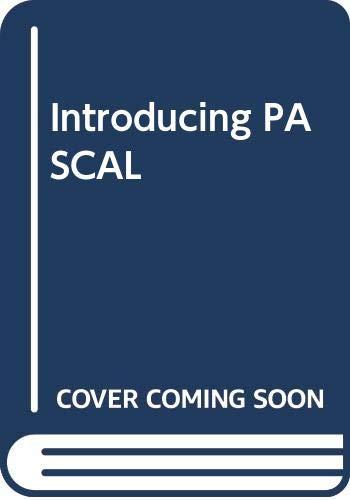 9780030605635: Introducing PASCAL