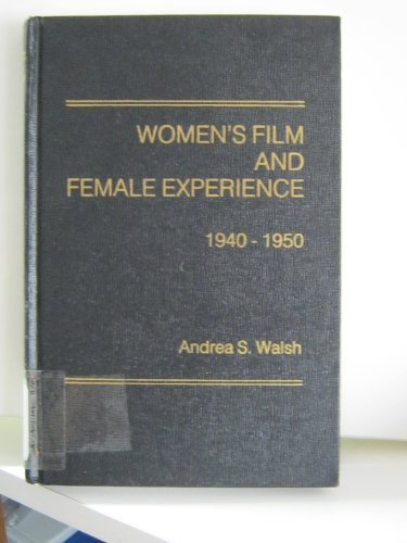 9780030613517: Women's Film and Female Experience, 1940-50