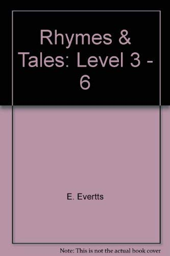 9780030614293: Rhymes & Tales: Level 3 - 6
