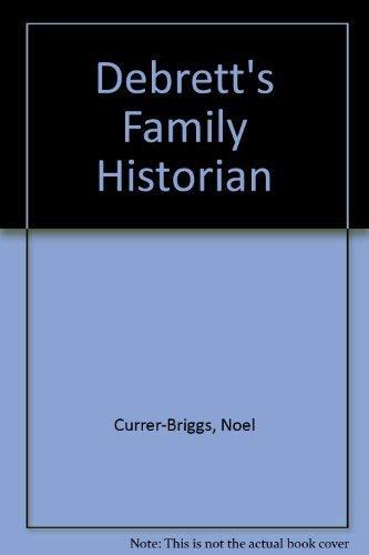 9780030614620: Debrett's Family Historian