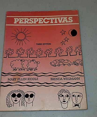 Perspectivas, temas de hoy y de siempre (Spanish Edition) (0030614821) by Kiddle, Mary Ellen