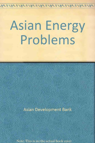9780030615665: Asian Energy Problems