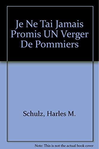 9780030616440: Je Ne Tai Jamais Promis UN Verger De Pommiers