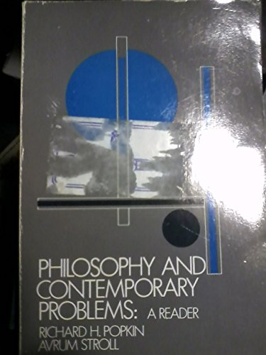 9780030617010: Philosophy and Contemporary Problems: A Reader