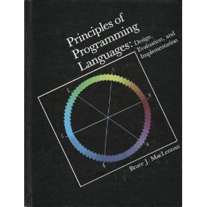 9780030617119: Principles of Programming Languages