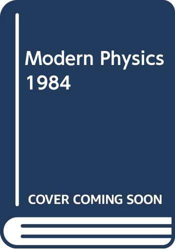9780030619366: Modern Physics 1984