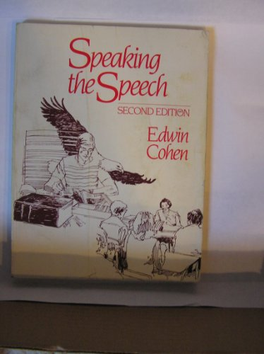 9780030620065: Speaking the Speech