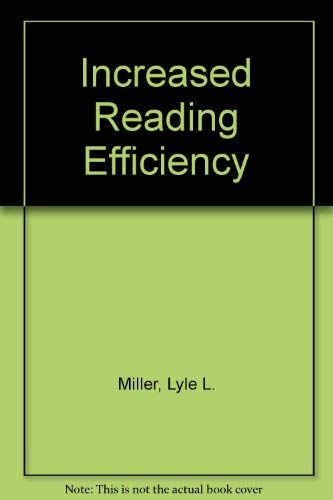 9780030620492: Increasing Reading Efficiency