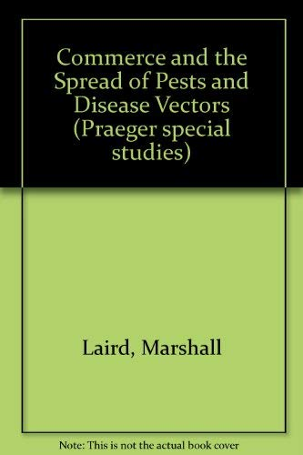 9780030621376: Commerce and the Spread of Pests and Disease Vectors