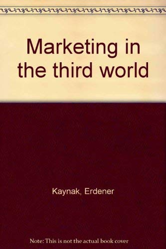 9780030621796: Marketing in the third world