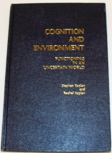 9780030623448: Cognition and Environment: Functioning in an Uncertain World