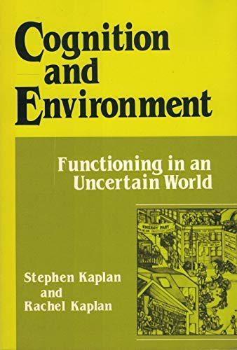 9780030623462: Cognition and environment : functioning in an uncertain world