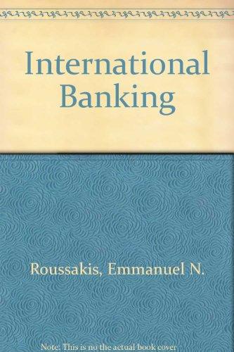 9780030623875: International Banking