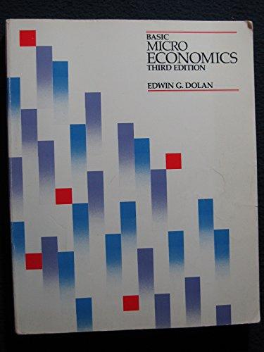 9780030624063: Basic Micro Economics