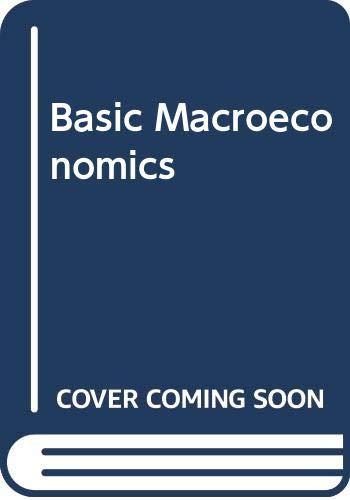 9780030624070: Basic Macroeconomics