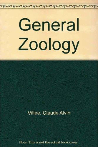 General Zoology: Villee, Claude Alvin;