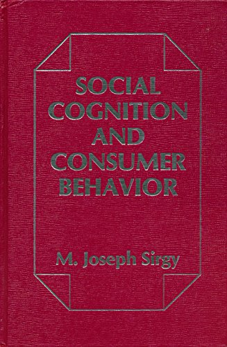 9780030624629: Social cognition and consumer behavior