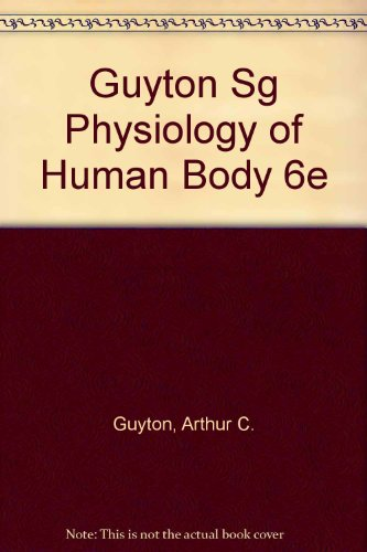 9780030625046: Physiology of the Human Body