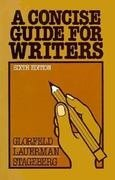 9780030626289: Concise Guide for Writers