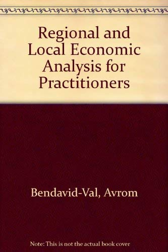 9780030629129: Regional and Local Economic Analysis for Practitioners