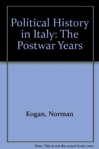 9780030629594: Political History in Italy: The Postwar Years