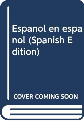 9780030631443: Espanol en espanol (Spanish Edition)