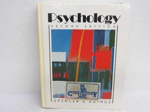 9780030631771: Psychology