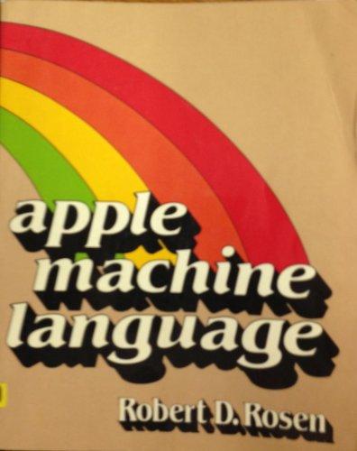 9780030633362: Apple machine language (Apple programming series)