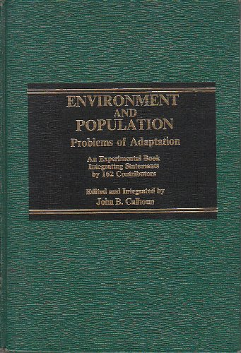 9780030633379: Environment and Population: Problems of Adaptation