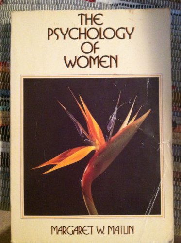 9780030634093: The Psychology of Women