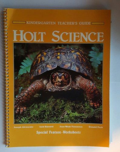 9780030634666: Holt Science; Grade K, Teachers Edition
