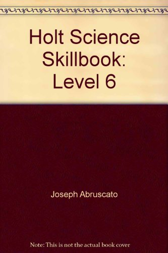 9780030634987: Holt Science Skillbook: Level 6