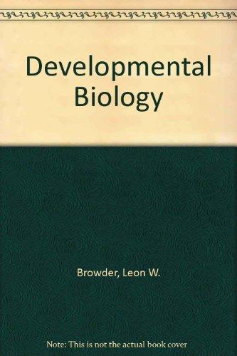 9780030635069: Developmental Biology