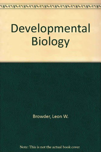 9780030635069: Developmental Biology