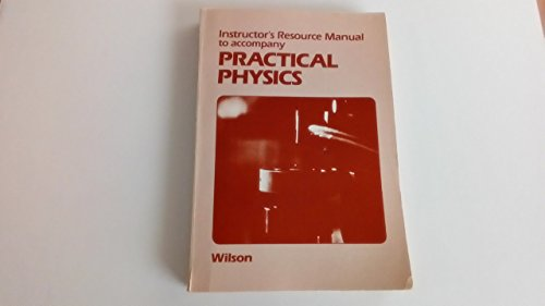 9780030635137: Instructor's resource manual to accompany practical physics (Saunders golden sunburst series)
