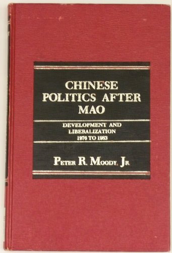 9780030635274: Chinese Politics After Mao
